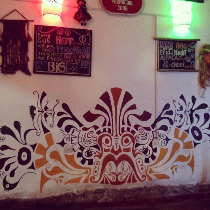 VIP House Hostel Mural by Gigi Douglas