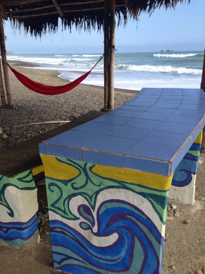 Ecuador Hand Painted Furniture by Gigi Douglas