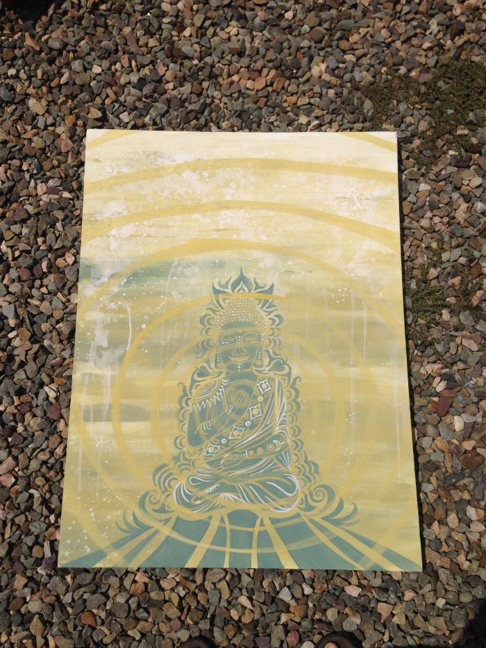 Buddha Baby (step 3) by Gigi Douglas