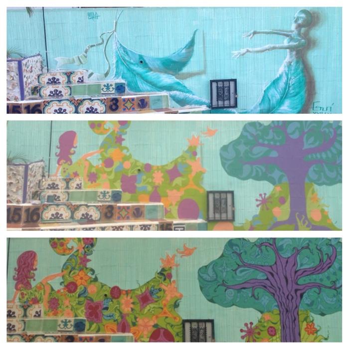 Pachamama Mural in Cali by Gigi Douglas
