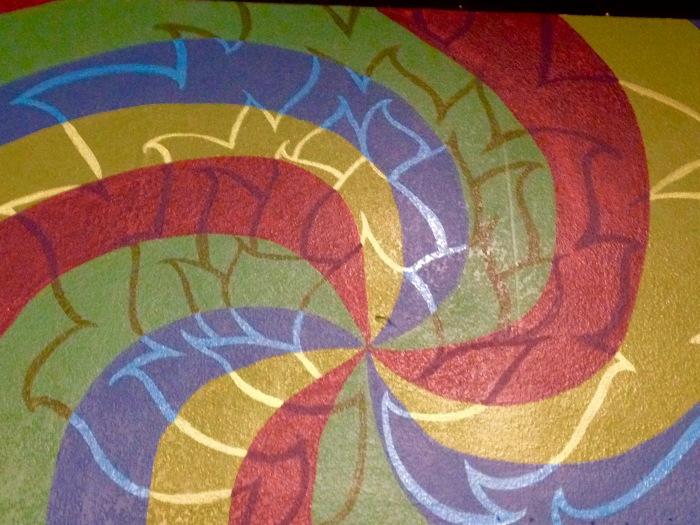 Vision Quest Mural 1 by Gigi Douglas