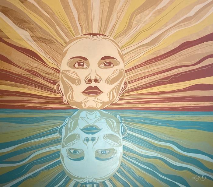 Reflection by Gigi Douglas