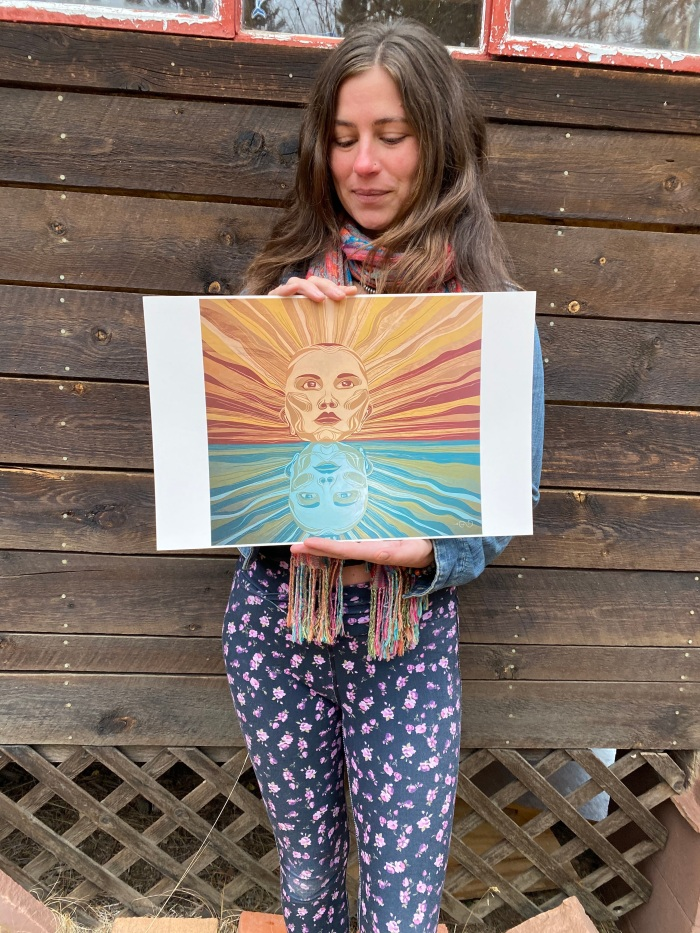 Reflections print by Gigi Douglas